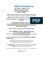 World Wide Association of Treasure Seekers annual Treasure Hunt in Colorado