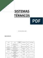 sistemas termicos
