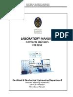 Electrical Machines Lab Manual Jan 2018