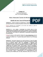 Trabalho de Economia Empresarial - Raimundo Júnior