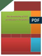 Essentiality of ICT