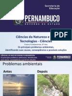 Os principais problemas ambientais, identificando suas causas, conseqüências e possíveis soluções.ppt