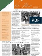 @John Jay Newsletter (September 15, 2010)