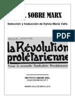 Weil Sobre Marx