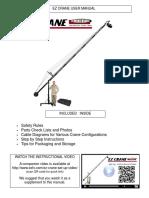 EZ Crane Manual