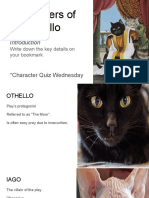 characters of othello