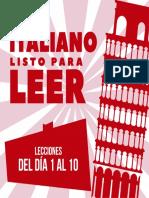 Italiano Día 1-10