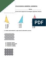 Formativa Matematica 6to Basico - Geometria