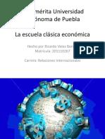 la escuela clasica economica