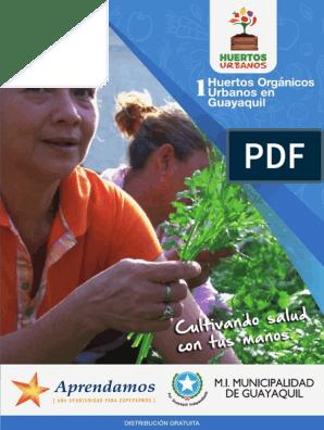como hacer un huerto organico en casa pdf