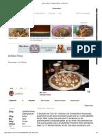 Schoko Pizza - Rezept Mit Bild - Kochbar