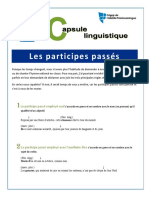 Capsule No 7 - Participes Passes