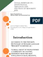 Presentation Minority