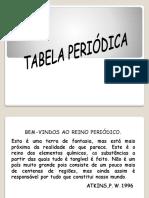 Tabela Periódica - Aula