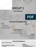 Lead Ppt - Group 1