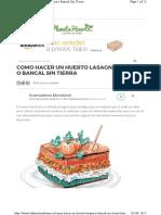 Huerto Lasagna