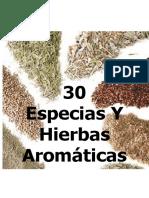 Especias y Hiervas Aromaticas
