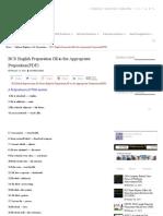 BCS English Preparation Fill in the Appropriate Preposition(PDF)