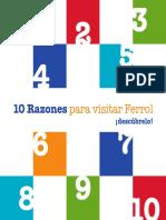 10 Razones Visitar Ferrol