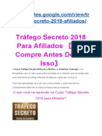 Curso Tráfego Secreto 2018 Para Afiliados〖Não Compre Antes De Ler Isso〗