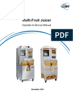 Multi Fruit Juicer