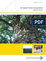 European Forest Ecosystems - State and Trends