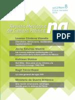 REVISTA MEXICANA DE CULTURA POLÍTICA N° 8