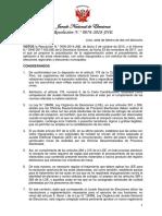 Res. 76-2018-JNE Reglamento Actas Observadas
