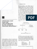 Operating Cost Analysis and Estimation in the Chemical Process Industries.pdf