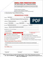 NFPAP Member Registration Form - Word