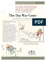 The Day War Came Press Release