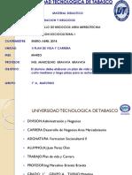 MATERIAL DIDACTICO DE FSC I MES DE MARZO 1°A MECADOTECNIA 2018