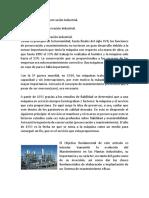 341189696 Evolucion de La Conservacion Industrial