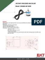 96 Rotary Encoder Hn38-06-n
