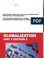 unit 2 section 3- globalization
