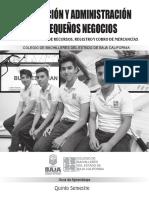 Planeación y Administración de Pequeños Negocios. Módulo III- Manejo de Recursos, Registro y Cobro de Mercancías 2015-2
