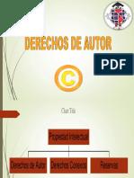 Derechos de Autor. UNID