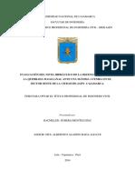 Tesis Eval. Del Nivel Hidráulico de La Defensa Ribereña de La Quebr. Magllanal