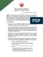 Res. 88-2018-JNE Número de Consejeros y Cuotas Electorales ERM2018