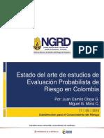 Estado Del Arte Modelacion Probabilista Del Riesgo