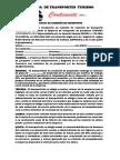 Contrato de Comisión de Transporte