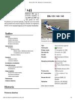 Embraer ERJ 145 - Wikipedia, La Enciclopedia Libre