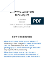 Flow Visualisation Techniques