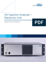Injection Analyzer Electronic Unit En