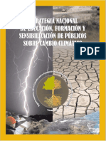 Estrategia Nacional de Educacion Cambio Climatico