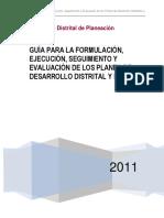 Guia Formulacion PDD PDL