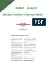 El Entrenador - Educador_Metodos analítico y global