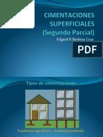Cimientos Superficiales Segundo Parcial