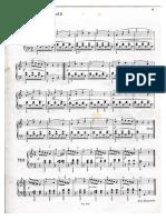 DIABELLI Minuetto Per Pianoforte