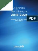 UNICEF Agenda Infancia 2018 2012 WEB